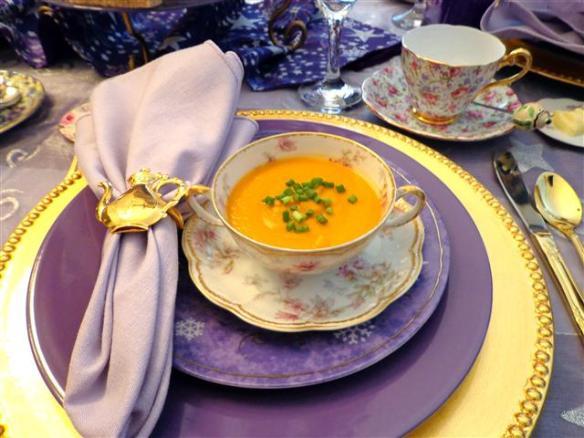 Lady J's sweet potato soup