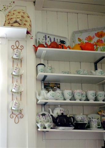 Tea room display