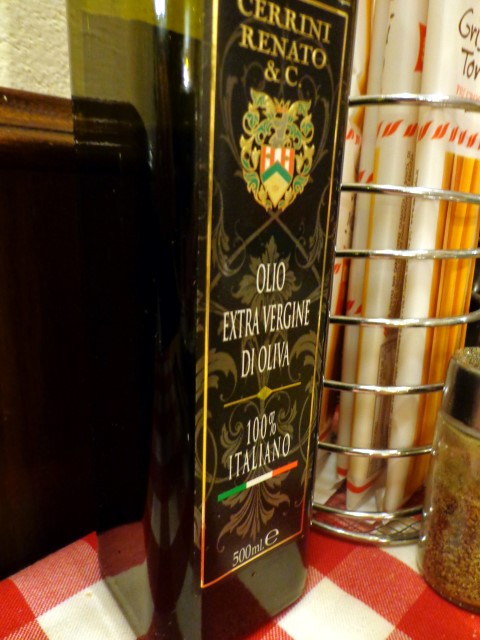 Excellent olive oil