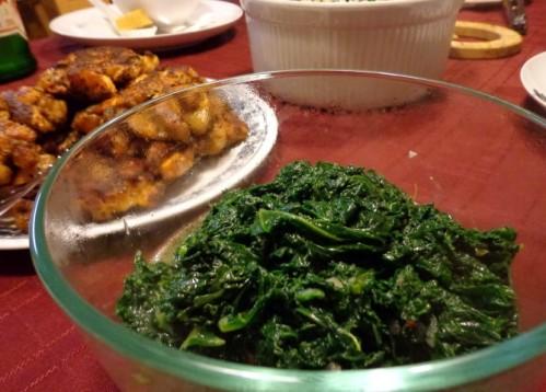 E.'s stir fried kale